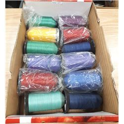 LOT OF NYON SEWING THREAD