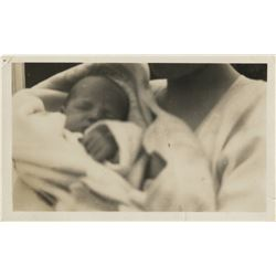 "Marilyn Monroe inscribed personal baby photograph, ""Me, when I was very small""."