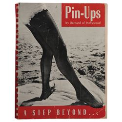 """Bernard of Hollywood signed pin-up book inscribed to Marilyn Monroe as """"Norma-Jean""""."""