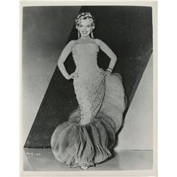 Marilyn Monroe oversize special portrait photograph from There's No Business Like Show Business.