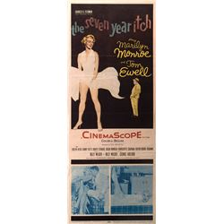Marilyn Monroe insert poster for The Seven Year Itch.