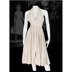 """Bill Travilla's personal touring creation of Marilyn Monroe's """"Subway"""" dress - The Seven Year Itch."""