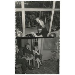 Marilyn Monroe at the Savoy Hotel, London contact sheet by Brian Worth.