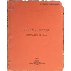 Goodbye Charlie Revised First Draft script for the unrealized Marilyn Monroe version of the film.