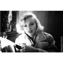 "Marilyn Monroe ""Candid Series 158"" mammoth exhibition print by Milton H. Greene."