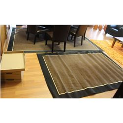 "PAIR OF MATCHING AREA RUGS 125"" X 95"" & 89"" X 63"""