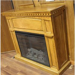 CLASSIC FLAME ELECTRIC FIREPLACE WITH REMOTE