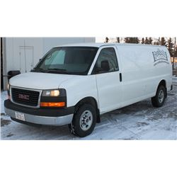 UNRESERVED! 2013 GMC SAVANA PANEL VAN 3500