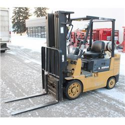 UNRESERVED! CATERPILLAR 50 FORKLIFT, 3 MAST