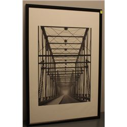 "26"" X 38"" BRIDGE PHOTO ART"