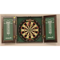 SHOWHOME SPORTCRAFT DARTBOARD WITH CABINET