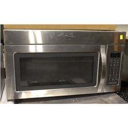 SHOWHOME WHIRLPOOL 1500 WATT OVER RANGE MICROWAVE
