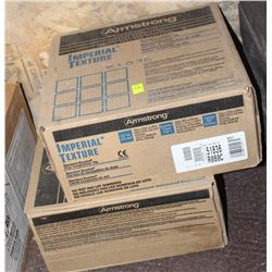 2 BOXES OF ARMSTRONG VINYL COMPOSITION TILE