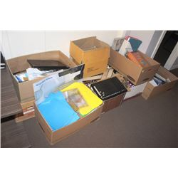 LARGE LOT OF ASSORTED OFFICE SUPPLIES