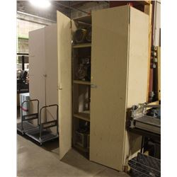 LOT OF 3 LARGE UPRIGHT CABINETS