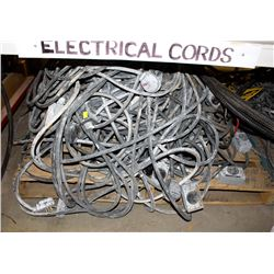 PALLET OF ASSORTED ELECTRICAL CABLES