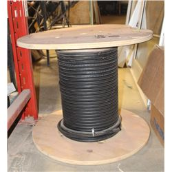 PART SPOOL OF 12/3C 600V ELECTRICAL CABLE