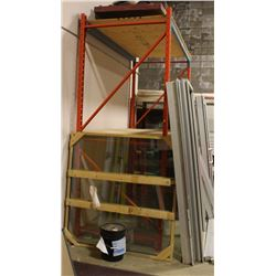 SING SECTION OF 8FT HEAVY DUTY PALLET RACKING