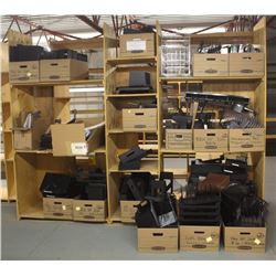 LARGE LOT OF ASSORTED OFFICE FILE HOLDERS