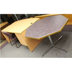 DESK TABLE AND 2 CHAIRS