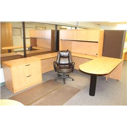 DESK CHAIR AND LATERAL FILING CABINET