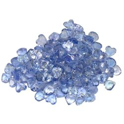 13.44 ctw Round Mixed Tanzanite Parcel