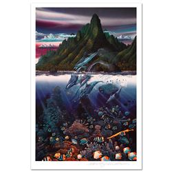 Violet Hues of Moorea by Nelson, Robert Lyn