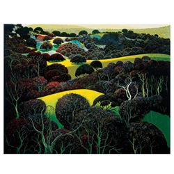 Santa Ynez Memories by Eyvind Earle (1916-2000)