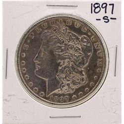1897-S $1 Morgan Silver Dollar Coin