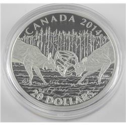 2014 $20 The White-tailed Deer: A Challenge - Pure