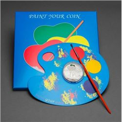 2014 $5 Paint Your Coin: First Love (Cook Islands)