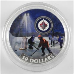 2017 $10 Passion to Play: Winnipeg Jets - Pure Sil