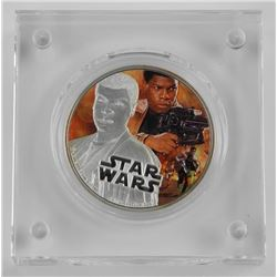 Fine Silver Coloured Coin Š—– Star WarsTM: The For