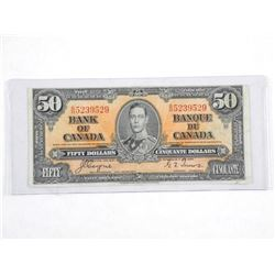 Bank of Canada 1937 $50.