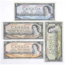 Lot 1954 Modified Portrait Bank of Canada Notes 17