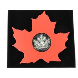 .9999 Fine Silver $20.00 Coin 'The Canadian Maple