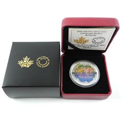 .9999 Fine Silver $20.00 Coin 'Butterfly' LE 5000