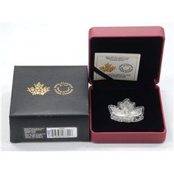 RCM .9999 Fine Silver $10.00 Coin Maple leaf - Can