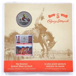 1912-2012 Calgary Stampede Coin Folio (OR)