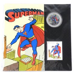 Superman Coin and Stamp Folio