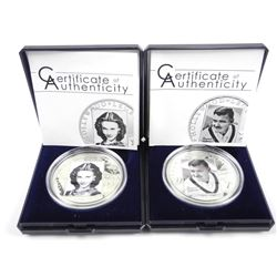 Lot (2) Hollywood Legends Coins 'Vivian Leigh - Cl