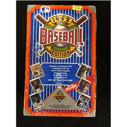 1992 UPPER DECK BASEBALL EDITION CARD BOX (THE COLLECTOR'S CHOICE)
