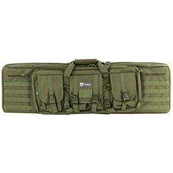 "DRAGO GEAR 42"" DOUBLE GUN CASE GREEN"