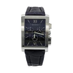 Gucci Stainless Steel 8600M Chronograph Wristwatch