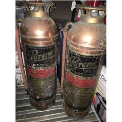 PYRENE BRASS FIRE EXTINGUISHER (SELLING 1 PER LOT)