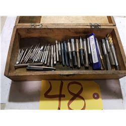 "Box of Taps from 2-56 to 1/2""-20 (6-48)"