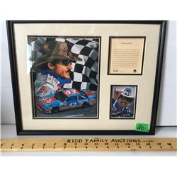 RICHARD PETTY FRAMED NUMBERED POSTER