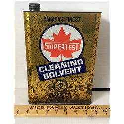 SUPERTEST CLEANING SOLVENT, 1 U.S. GALLON W/CONTENTS