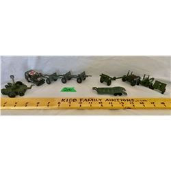 GR OF 10, MILTARY TOYS