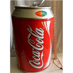 COCA COLA CAN SHAPED COOLER